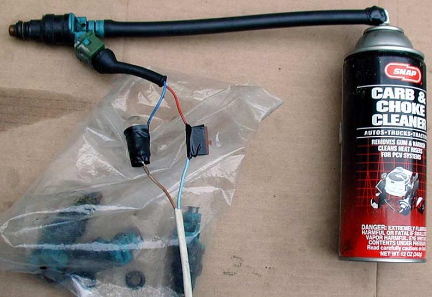 Очистка форсунки инжектора своими руками