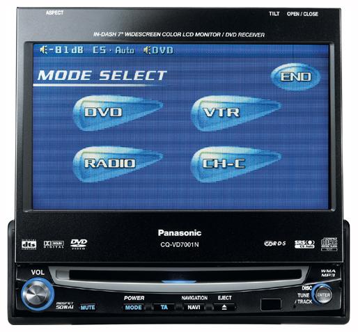 Скачать инструкцию для Panasonic CQ-VD7001N. Подобрать Автомагнитолы.