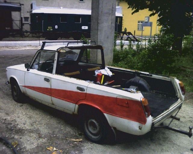 Тюнинг. Пикап ВАЗ 2102