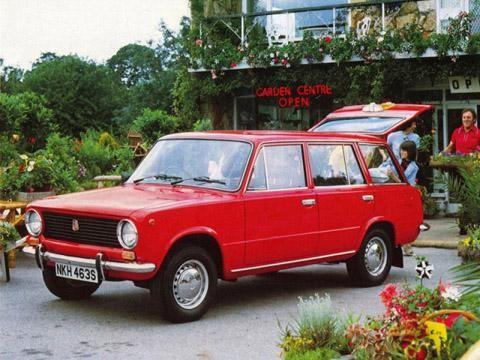 ВАЗ 2102. Красный.