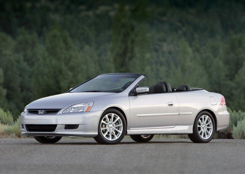 Хонда Аккорд 2007, кабриолет