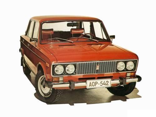 ВАЗ 2103, красный пятидверный седан