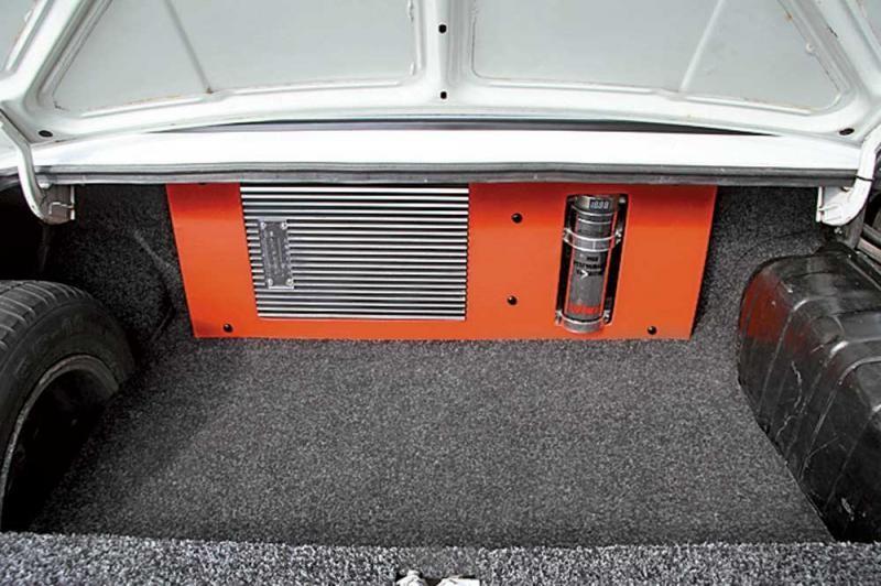 ВАЗ 2105 багажник