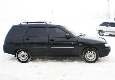 Черный ВАЗ 2111