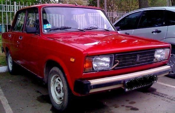Вишневый ВАЗ 2105