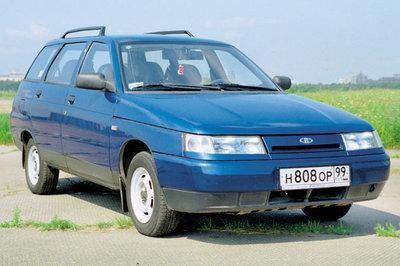 ВАЗ 2111, синий универсал