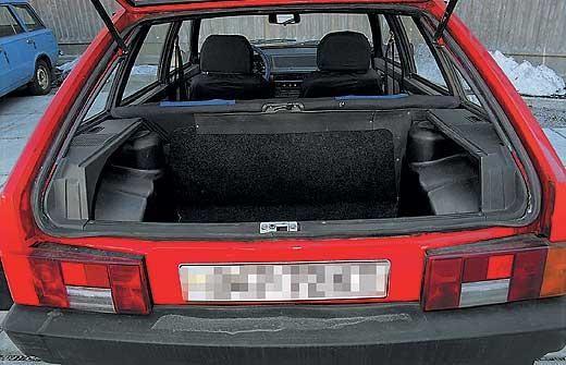 Как сделать багажник 21093