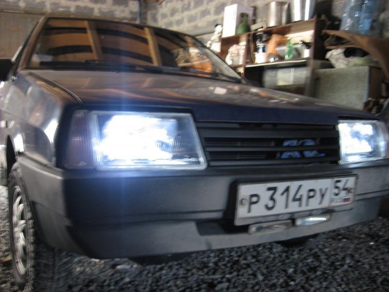 ВАЗ 2109, фары