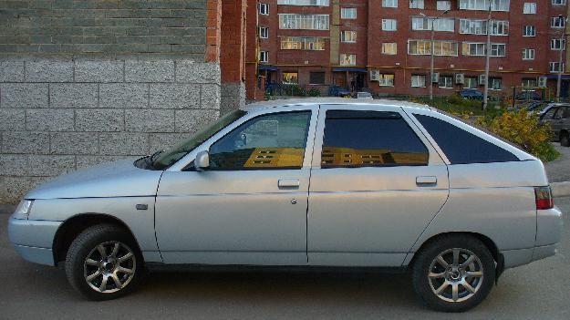 Серый ВАЗ 2112