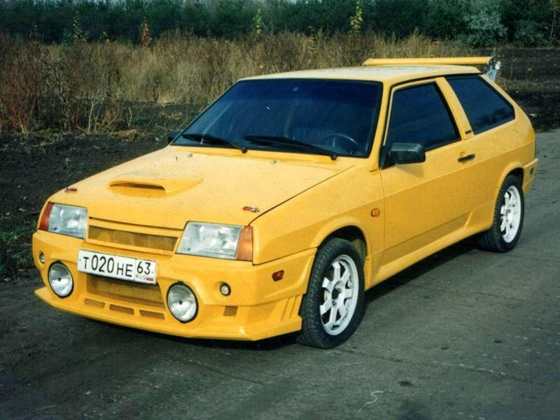 ВАЗ 2108, тюнинг, 1998г