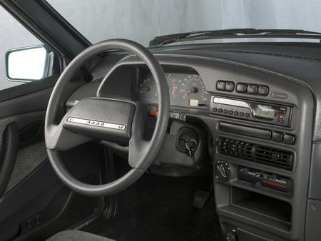 Руль, приборная панель ВАЗ 2115