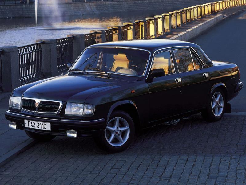 Черный ГАЗ 3110