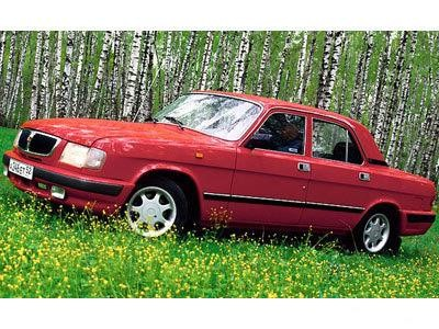 Красный ГАЗ 3110
