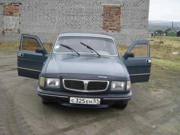 ГАЗ 3110, вид спереди