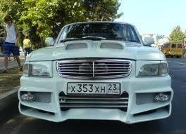 ГАЗ 3110, тюнинг, вид спереди