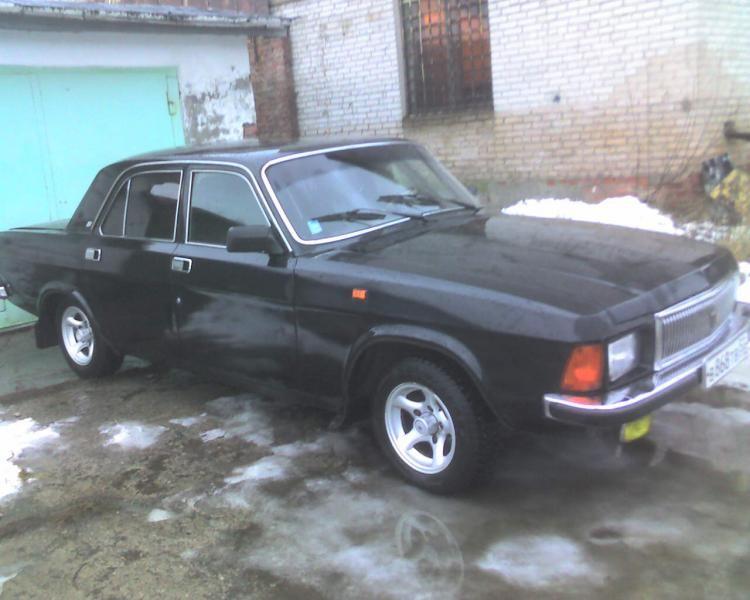 Черный ГАЗ 3102