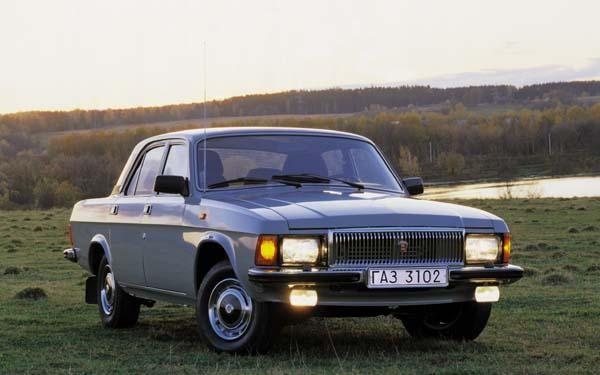 Серый ГАЗ 3102