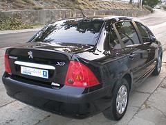 Пежо 307 2007г, вид сзади