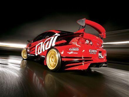 Крутой тюнинг Acura RSX