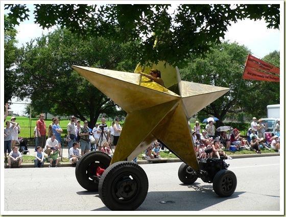 Звезда на колесах