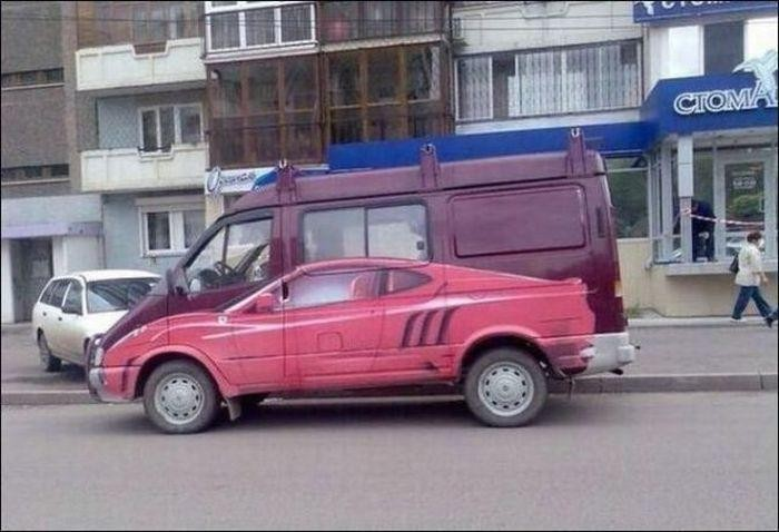 Автомобиль в Газеле