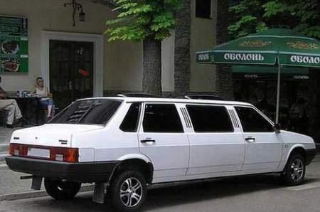Лимузин ВАЗ 21099