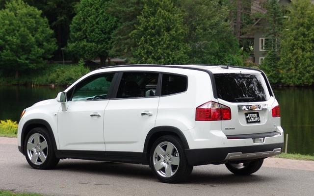 Ngoại thất lich lãm của Chevrolet Orlando