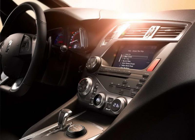 Руль, кпп, консоль Ситроен DS5 2012