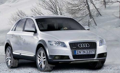 Серебристый Audi Q5 2012 вид спереди