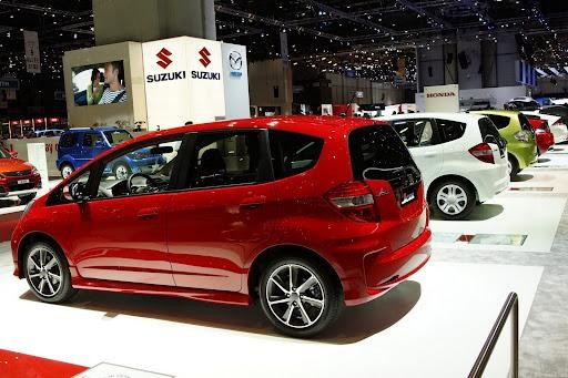 Грациозный Хонда Джаз 2012