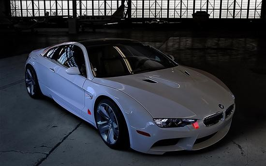 Белый BMW Z10