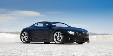 Черный BMW Z10