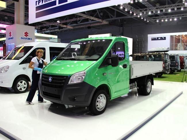 Новый зеленый Газель Некст 2012