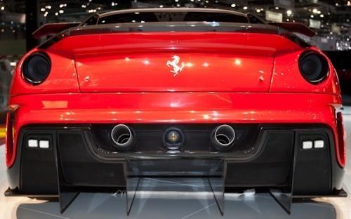 Мощный красавец Феррари 599хх