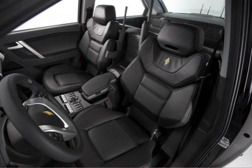 Черный салон Carbon Motors Е7
