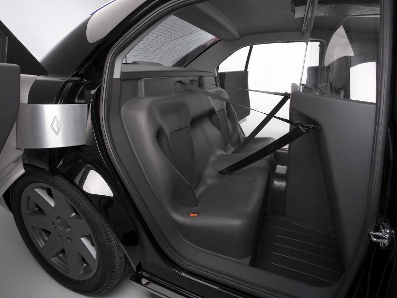 Интереьр Carbon Motors E7