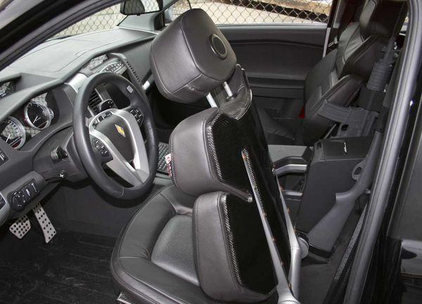 Черный салон Carbon Motors E7