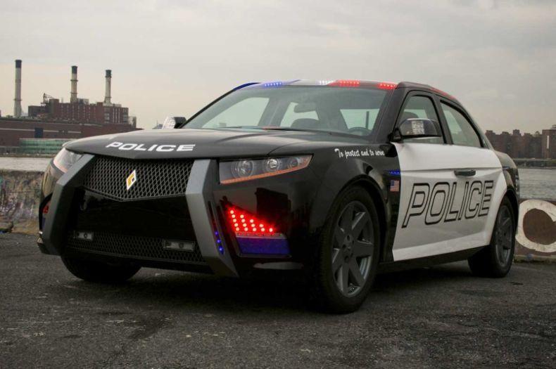 Полицейский Carbon Motors E7