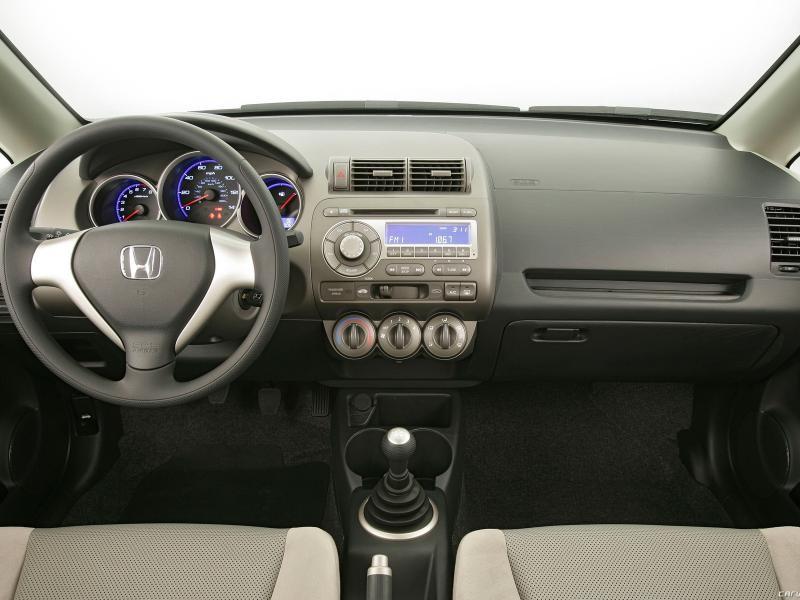 Кпп, руль, салон Хонда Фит