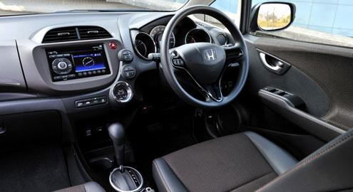 Кпп, руль, салон, консоль Хонда Фит