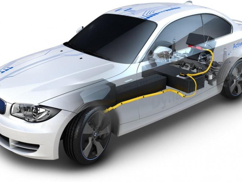 Купе электрокар BMW ActiveE