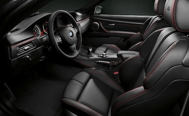 Черный салон, кпп, руль BMW M3 Frozen