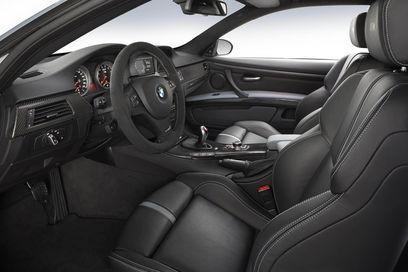 Черный салон, руль, кпп BMW M3 Frozen