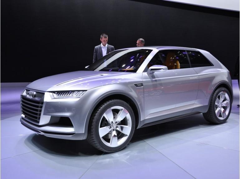 Презентация Audi Crossline Coupe
