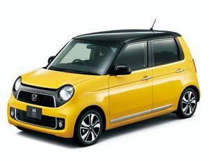 Желтый Хонда N-One