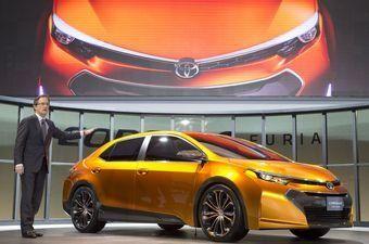 Новый концепт Тойота Королла Фурия