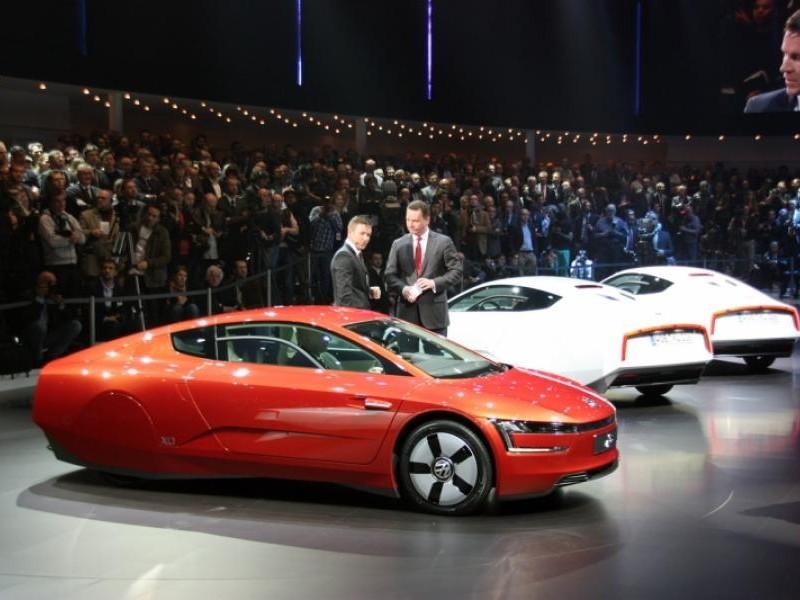 Концепт Volkswagen XL1