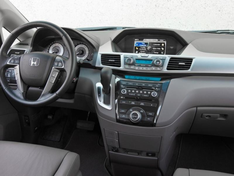 Салон, кпп, руль, консоль Honda Odyssey 2013