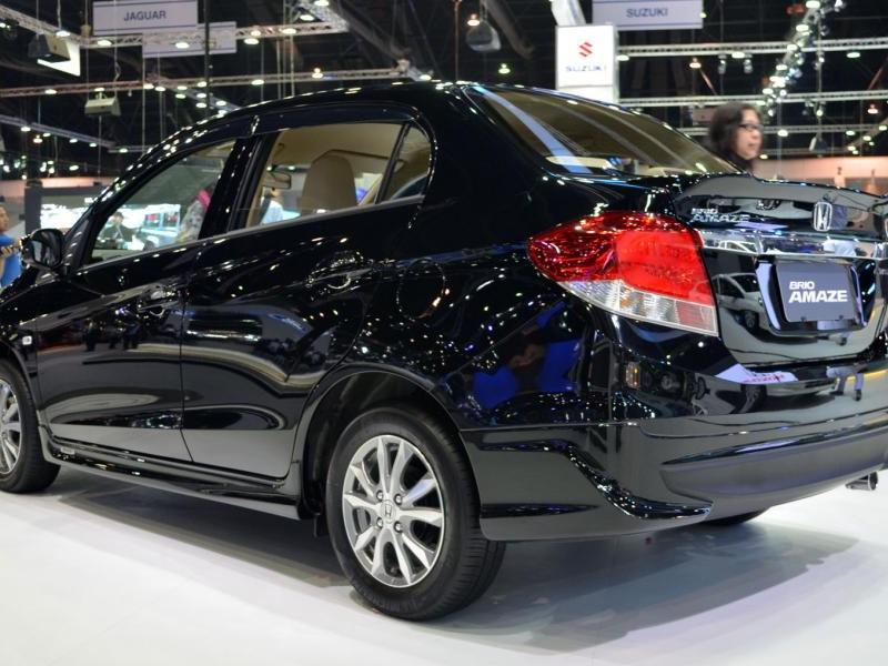 Новый седан Honda Brio Amaze 2013