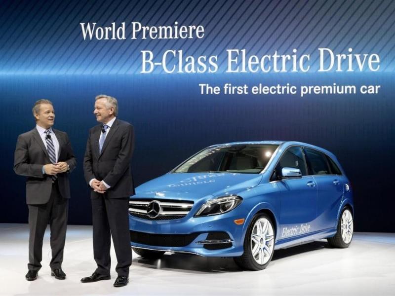 Презентация Mercedes B-Class Electric Drive